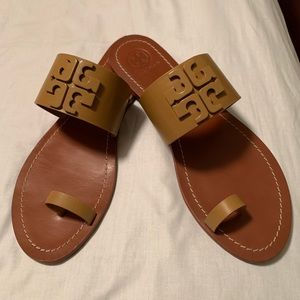 Tory Burch Lowell 2 vegan napa flat slide